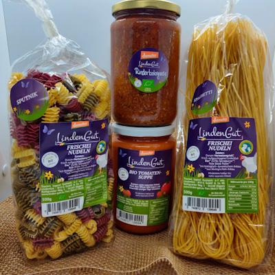 Pasta genussbox produkte