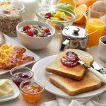 Morgensternhaus Frühstück am See