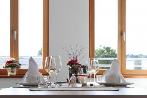 Gedeckter Tisch Besprechungsraum Image klein